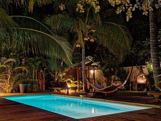 T3 'Frangipanier' prive - piscine, bord de mer