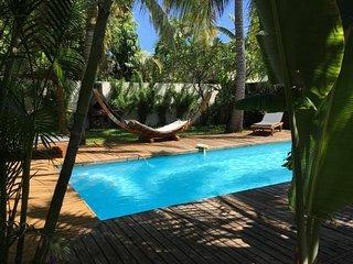 T1 «Bougainvillier» privé - piscine, bord de mer