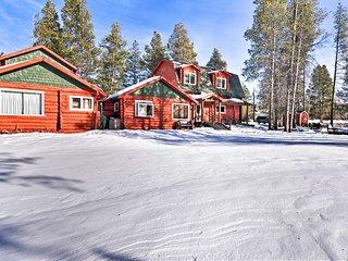 Historic Cabin w/ Hot Tub - 5 Mi. to Winter Park!