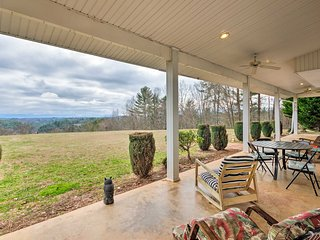 NEW! 7-Acre Marshall Home w/ Mtn View-by Asheville