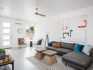 Sleek and modern you will love this new vacation rental that sleeps 14!