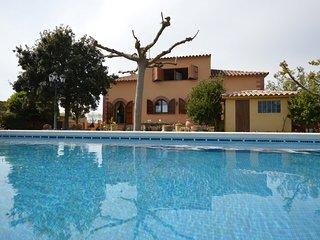 Can Teixidor - Casa con piscina y jardin.