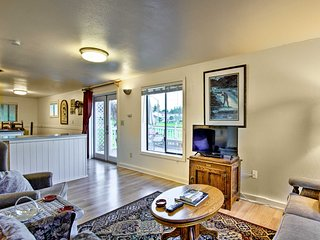 NEW! Whidbey Island Studio near Coupeville Coast!