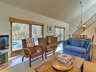 NEW! East Hampton Home w/ Pool - Walk to Village!