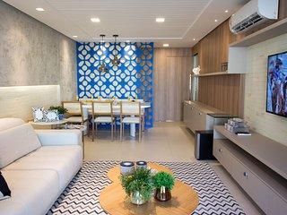 Golf Ville Apartamento alto padrão 3 suítes com varanda gourmet Golf 07.24