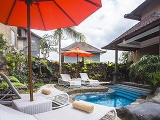 2BDR Private Pool Villa 800 meters from Ubud Markets