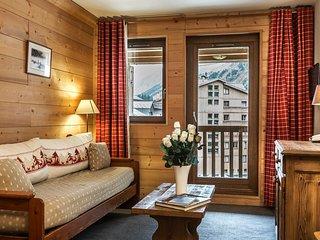 Appartement 7p avec balcon, près des commerces et l'Ecole de Ski