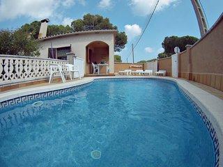 Casa el Recreo con piscina privada y terraza para 6 pax wifi free