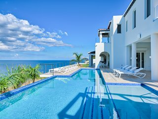Ocean Front Brand New Elegant Modern Luxury Home with Heated Salt Water Pool