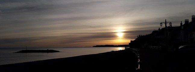 Beautiful Devon sunset