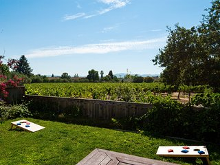 Close to Healdsburg Plaza with Vineyard Views!