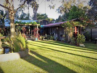 Rustic Paradiso is a very special romantic cottage for two in amongst nature