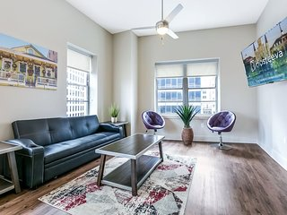 Luxury 2bd/2bath condo. Walk to French Quarter & Bourbon St.