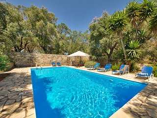 Olive grove house : a traditionnal villa with private pool and seaview in Paxos