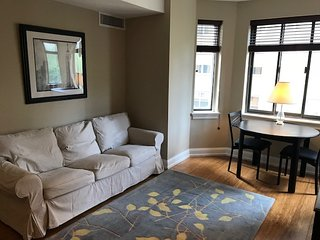 Rittenhouse square 1br and 1 bath, 24 hr doorman, gym, W/D in unit! Gorgeous!