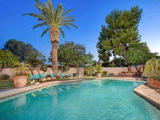 Southwest Luxury Awaits! Corner Lot w/ Backyard Oasis, Pool & Putting Green