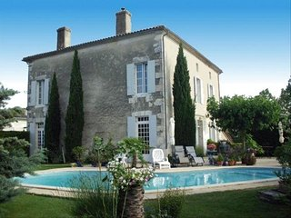 Beautiful Imposing Maison De Maître. Wonderful Pool and Secure Private Gardens.