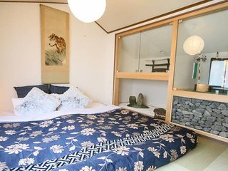 ☆RARE 3BR COMFY Traditional house Kyoto stn!
