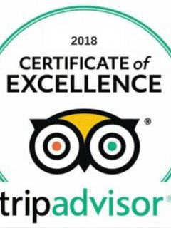 Inglenook Cottage was awarded a Certificate of Excellence 2018