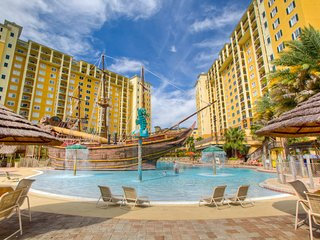 Spacious Suite + Pirate Themed Pool Experience   Theme Park Shuttles