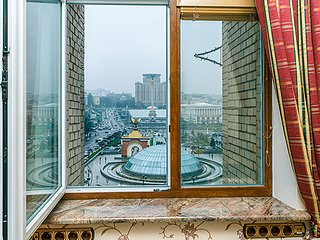 ★KievHome★LUX★View of the Maidan★City centre★