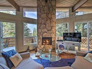 Lake Arrowhead Cabin w/ Deck & Scenic Forest Views