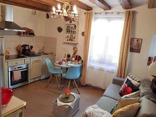Toscane Ribeauvillé 1 chambre 1 canapé lit 4 personnes accès au SPA gratuit