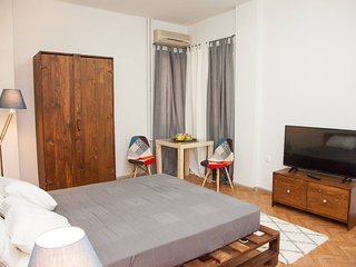 Syntagma & Ermou Studio Apartment in Superb Downtown Athens has it ALL!