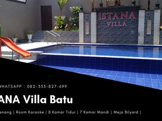 Villa Di Batu Fasilitas Kolam Renang | ISTANA Villa Batu
