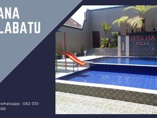 Villa Plus Kolam Renang Batu Malang | ISTANA Villa Batu