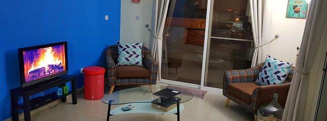 Living Room with Google Cromecast