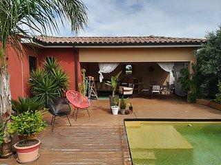 4* Mediterraneenne Maison de vacances avec piscine privée