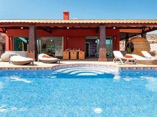 Villa vacacional lujosa de estilo modernos con unas bonitas vistas.