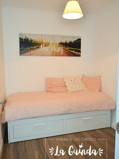 Dormitorio3 .Cama nido. Abierta 1,60