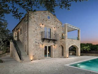 Stone-Built Private villa, with Pool and Terraces!
