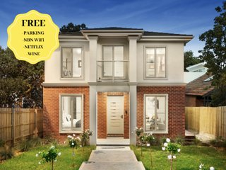 NEW Modern Inner Melbourne Spacious Grand Holiday House for Family/Groups