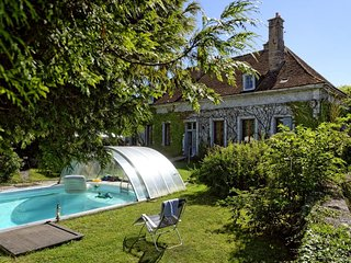 La Chambonnette Holiday home for 14 people in Saint Sauveur en Puisaye, France