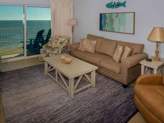 Gulf-front on 12th floor | Out/In pool, Hot Tub, Fitness, Sauna/Steam, Wifi | Fr