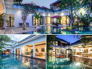 Frangipani Villas | 3 fully staffed Luxury properties | 10 bedrooms and 3 pools