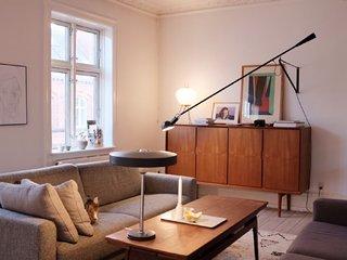Classic Copenhagen apartment near Nordhavn st