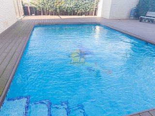 Penthouse 4 pax with pool in La pineda (Salou)