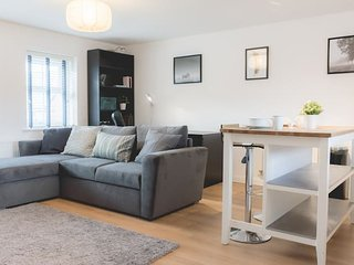 Cosy&Modern 1Bed Apt with Free Parking!