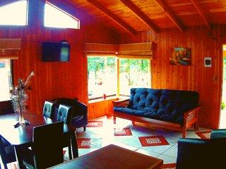Cabañas para 6 personas Centro Turistico los Reales(N°1)