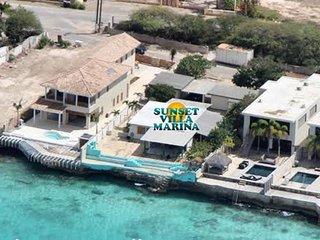 Villa Sunset Marina, villa aan zee Punt Vierkant