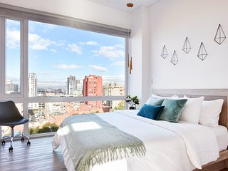 Urban Heights  403 - Trendy Studios in Exciting Chapinero Alto