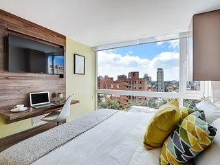Urban Heights 304 - Trendy Studios in Exciting Chapinero Alto