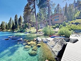 Monthly Lease/ Perfect for Ski Lease/Summer Break! Lakefront w/ Private Beach