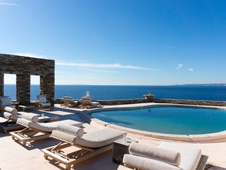 Villa DeNiro a superstar clifftop pad with pool, by JJ Hospitality