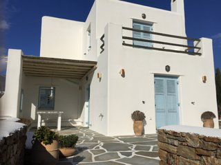 Naxos luxury villa stelida-4 bedrooms