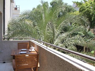 Hilton beach -2 bedrooms-balcony-modern- BenYehuda 204